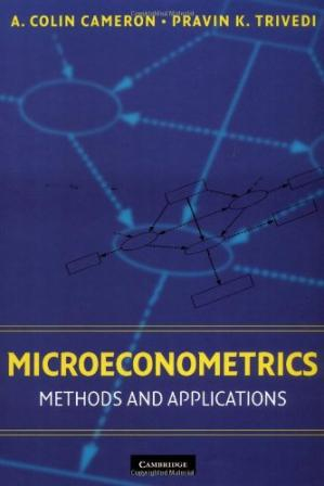 Εξώφυλλο βιβλίου Microeconometrics. Methods and applications
