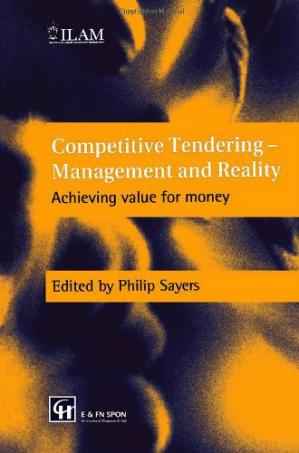 Обкладинка книги Competitive Tendering - Management and Reality: Achieving value for money