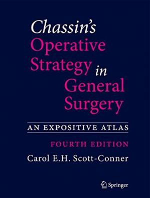 A capa do livro Chassin's Operative Strategy in General Surgery: An Expositive Atlas
