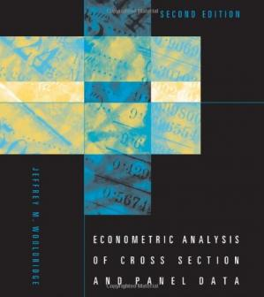 Book cover Econometric Analysis of Cross Section and Panel Data, 2nd Edition (21 ch only)