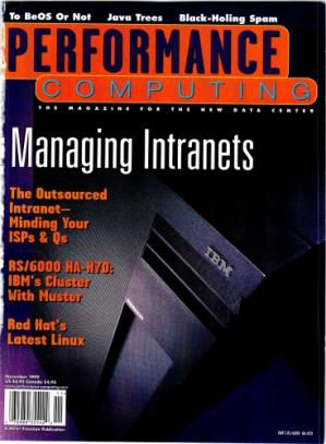 Buchdeckel Perfomance Computing - November 1999