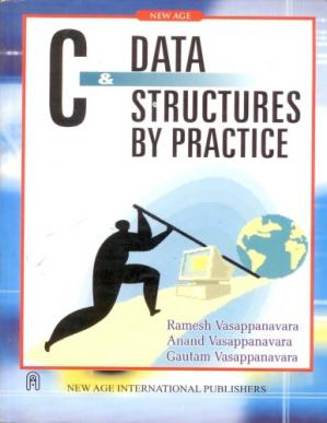 Copertina C and Data Structures by Practice