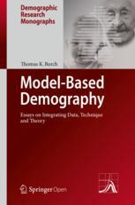 Buchdeckel  Model-Based Demography: Essays on Integrating Data, Technique and Theory