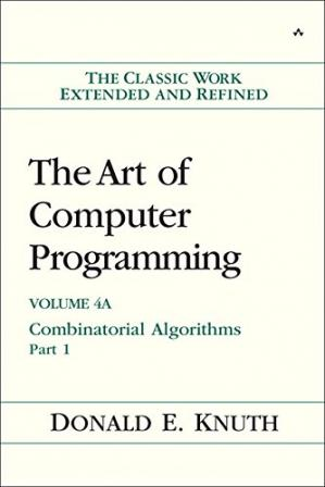 书籍封面 The art of computer programming. Volume 4A, Combinatorial algorithms, Part 1