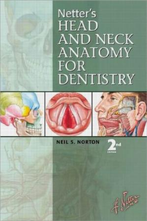 पुस्तक कवर Netter's Head and Neck Anatomy for Dentistry, Second Edition