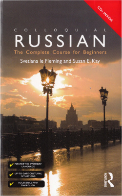 Book cover Colloquial Russian: The Complete Course For Beginners