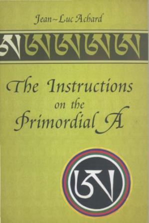 Buchdeckel The Instructions on the Primordial A