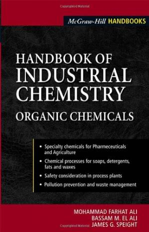 Book cover Handbook of Industrial Chemistry: Organic Chemicals