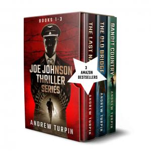Обкладинка книги The Joe Johnson Thriller Series Box Set: Books 1-3
