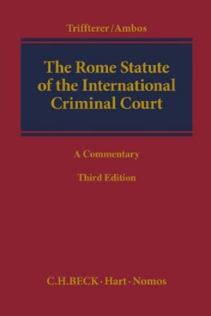 Book cover The Rome Statute of the International Criminal Court: A Commentary