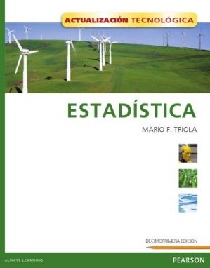 Book cover Estadística