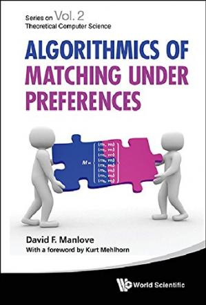Εξώφυλλο βιβλίου Algorithmics of Matching Under Preferences