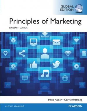 Εξώφυλλο βιβλίου Principles of Marketing - Global Edition
