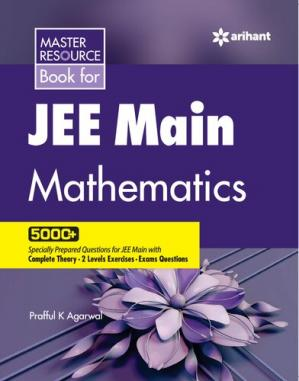 Sampul buku Master Resource Book in Mathematics 5000+ Questions for JEE Main 2020 Prafful K Agarwal Arihant