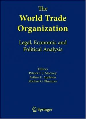 पुस्तक कवर The World Trade Organization : Legal, Economic and Political Analysis (Vol 1-3)