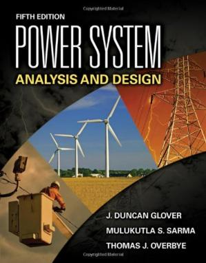 Обложка книги Power System Analysis and Design, Fifth Edition