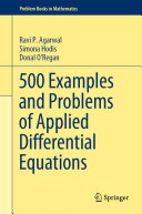 Book cover 500 Examples and Problems of Applied Differential Equations