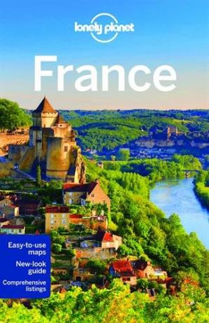 Book cover Lonely Planet France