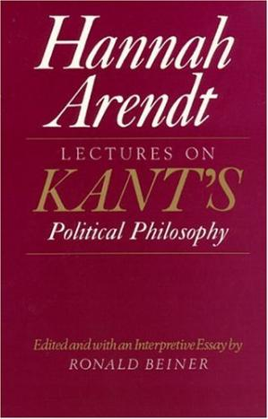 Εξώφυλλο βιβλίου Lectures on Kant's Political Philosophy