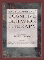 Copertina Encyclopedia of Cognitive Behavior Therapy