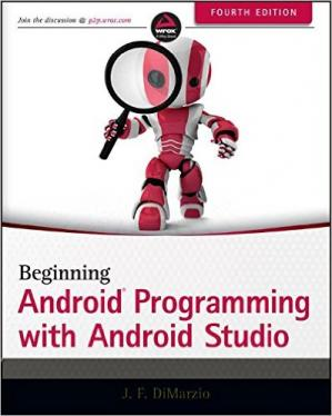 पुस्तक कवर Beginning Android Programming with Android Studio