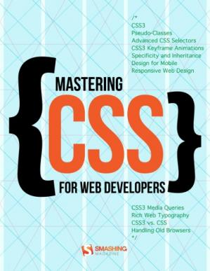 पुस्तक कवर Smashing ebook #9: Mastering CSS for Web Developers