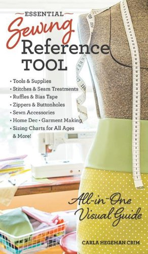 Book cover Essential Sewing Reference Tool: All-in-One Visual Guide