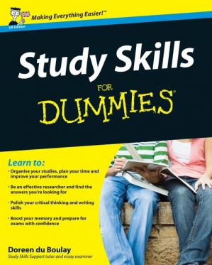 Book cover Study Skills For Dummies