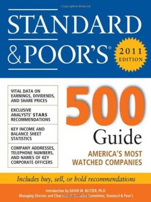 Book cover Standard & Poor''s 500 Guide, 2011 Edition (Standard and Poor's 500 Guide)