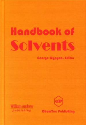 Book cover Handbook of solvents