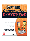 पुस्तक कवर German Conversation Demystified