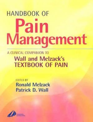 Book cover Handbook of Pain Management. A Clinical Companion to Wall and Melzack's textbook of pain