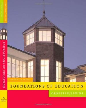 Book cover Foundations of Education (Student Text) , Tenth Edition