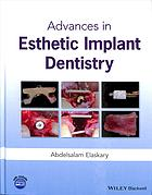 Sampul buku Advances in esthetic implant dentistry