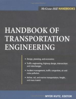 Sampul buku Handbook of transportation engineering