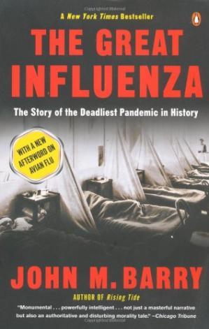 Buchdeckel The Great Influenza: The story of the deadliest pandemic in history