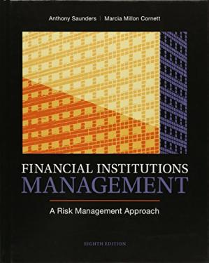 წიგნის ყდა Financial Institutions Management: A Risk Management Approach