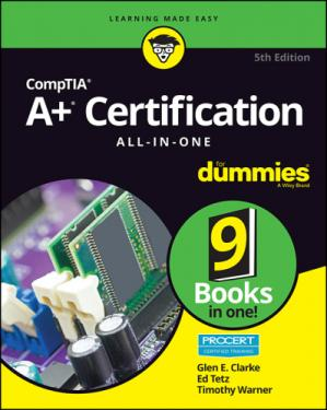 Обложка книги CompTIA A+ Certification All-in-One For Dummies