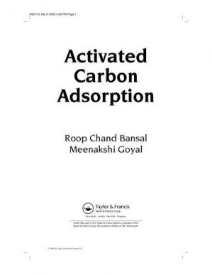 Обложка книги Activated Carbon Adsorption