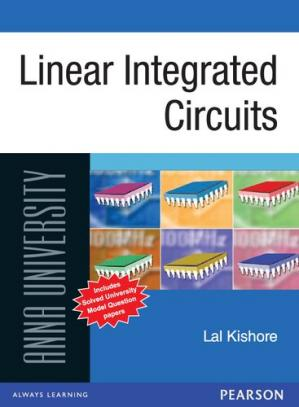 Book cover Linear Integrated Circuits : For Anna University
