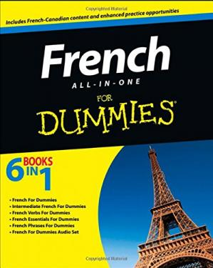 غلاف الكتاب French All-in-One For Dummies (6 Books in 1)
