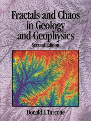 ปกหนังสือ Fractals and Chaos in Geology and Geophysics