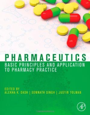 Book cover Pharmaceutics: Basic Principles and Application to Pharmacy Practice