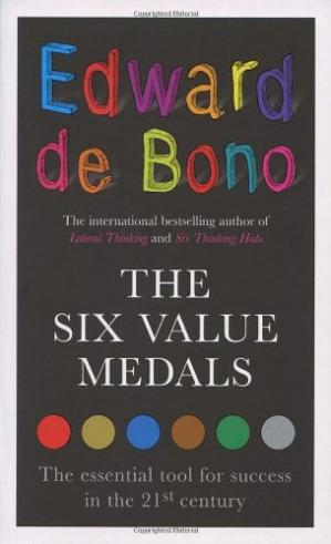 ปกหนังสือ The Six Value Medals: The Essential Tool for Success in the 21st Century