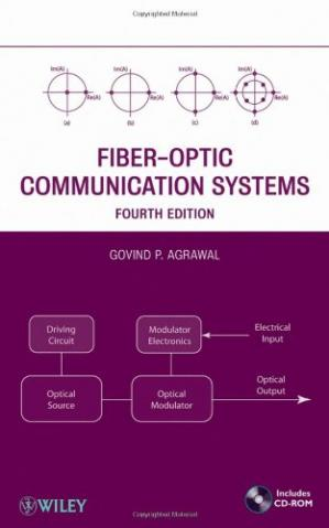 पुस्तक कवर Fiber-Optic Communication Systems, 4th Edition (Wiley Series in Microwave and Optical Engineering)