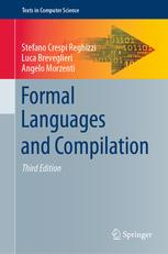 Portada del libro Formal Languages and Compilation (3rd Edition)
