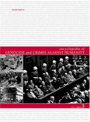 Buchdeckel Encyclopedia Of Genocide And Crimes Against Humanity [T-Z]