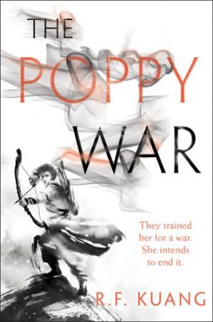 La couverture du livre The Poppy War