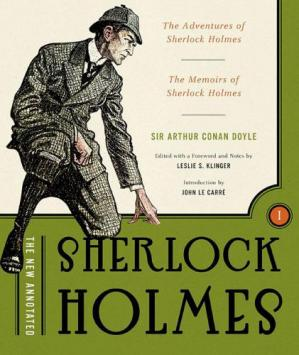 Book cover The New Annotated Sherlock Holmes, Vol. 1: The Complete Short Stories: The Adventures of Sherlock Holmes and the Memoirs of Sherlock Holmes