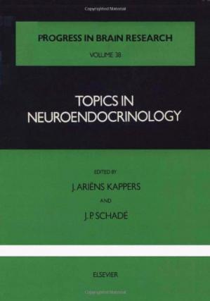 表紙 Topics in Neuroendocrinology, Vol. 38